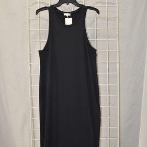 NWT Leith Black Midi Dress